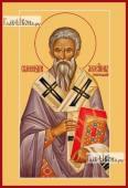 Геннадий Новгородский, икона печатная