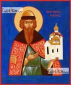 Всеволод Псковский, икона на дереве печатная