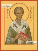 Герман Константинопольский икона на дереве печатная