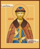 Димитрий Донской, икона на дереве печатная