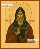 Димитрий Прилуцкий, икона на дереве печатная