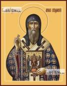 Дионисий Суздальский, икона на дереве печатная
