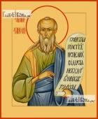 Елисей пророк икона на дереве печатная