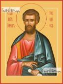 Иаков Зеведеев, апостол из 12-ти, икона на дереве печатная