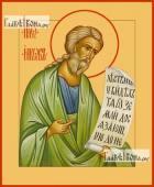 Иаков апостол брат Господень икона на дереве печатная