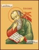 Иоанн Богослов, икона на дереве печатная