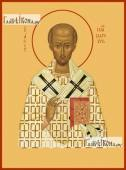 Иоанн Златоуст, икона печатная