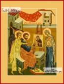 Лука апостол иконописец печатная на дереве икона