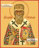 Макарий митрополит Московский печатная на дереве икона