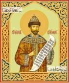 Николай, Романов, II, император, печатная на дереве икона