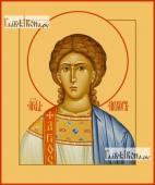 Прохор архидьякон апостол печатная на дереве икона