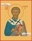 Стахий епископ Византийский, икона печатная