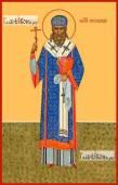 Арсений Ростовский, икона на дереве печатная