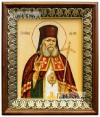 Лука Крымский икона на холсте в киоте-рамке