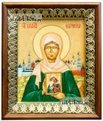 Матрона Московская икона на холсте в киоте-рамке