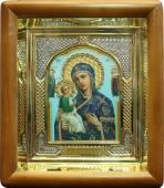 Икона Иерусалимская в киоте