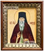 Амвросий Оптинский икона на холсте в киоте-рамке