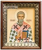 Андрей Критский, икона на холсте в киоте-рамке