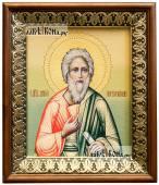 Андрей Первозванный икона на холсте в киоте-рамке