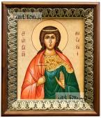 Анастасия Романова икона на холсте в киоте-рамке