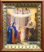 Введение во храм икона на холсте в киоте-рамке