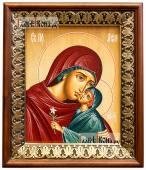 Праведная Анна икона на холсте в киоте-рамке