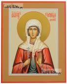 Стефанида Дамасская, икона на дереве печатная