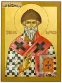 Икона Спиридона Тримифунтского, артикул 566