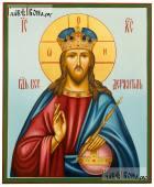 Образ Господа Вседержителя со скипетром и державой, икона артикул 629