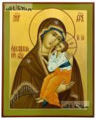 Ярославская Божия Матерь, рукописная икона на дереве, артикул 5337
