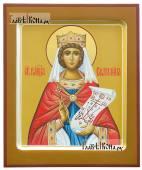 Рукописная икона святой Екатерины артикул 6267