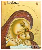 Рукописная икона Корсунской Божией Матери артикул 276