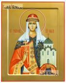 Ольга равноапостольная икона на дереве печатная