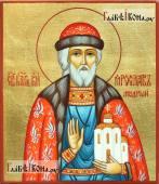 Икона писаная святого Ярослава Мудрого артикул 589