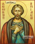 Константин Ярославский, рукописная именная икона
