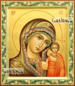 Казанская Божия Матерь рукописная икона артикул 5348