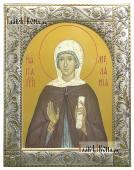 Мелания Римляныня икона в ризе классической