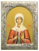 Степанида (Стефанида) Дамасская, икона в ризе классической