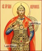 Рукописная икона Ильи Муромца, артикул 6004