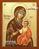 Писаная икона Иверской Богородицы, артикул 272