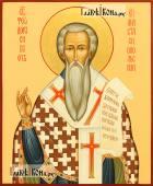 Святой Феодор Сикеот, писаная икона артикул 557