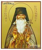 Севастьян Карагандинский, икона на дереве, печатная