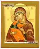 Владимирская Божия Матерь писаная икона с ковчегом