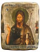 Состаренная икона святого Иоанна Предтечи