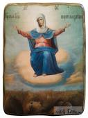 Спорительница Хлебов, икона под старину
