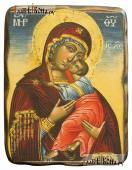 Сладкое Лобзание, икона под старину