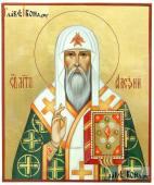 Митрополит Алексий икона рукописная артикул 6121