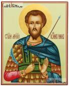 Икона рукописная Иоанна Воина, артикул 593