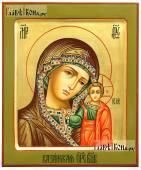 Казанская Божия Матерь с суровым ликом артикул 5364