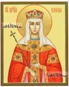 Царица Елена равноапостольная икона рукописная артикул 6018